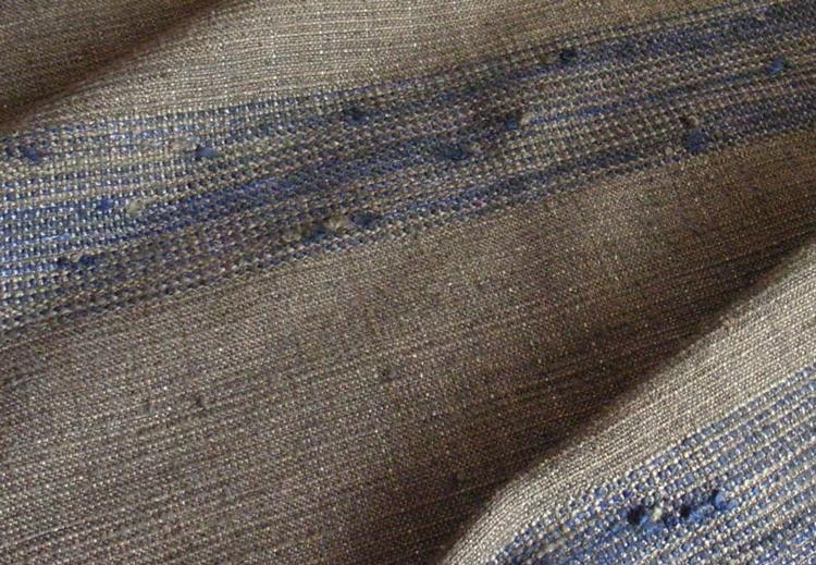 藍つなぎ糸ショール詳細用3