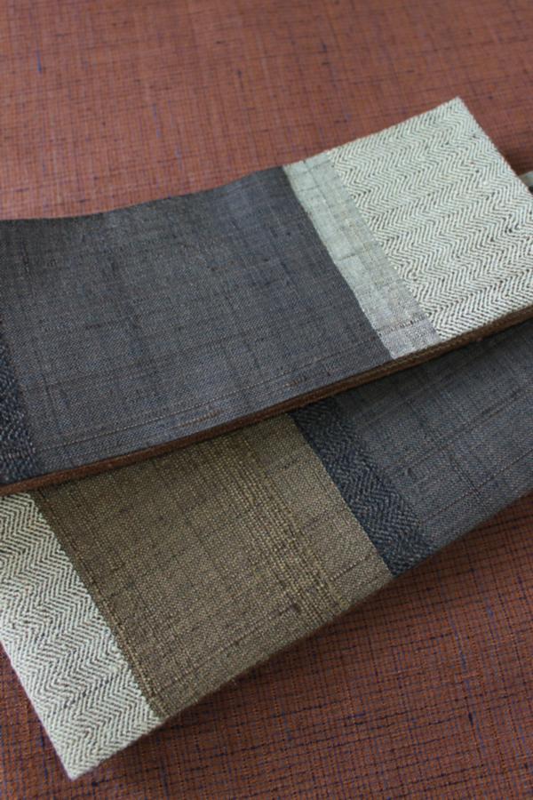 綾織リバーシブル角帯