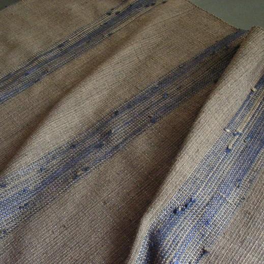 藍つなぎ糸ショール